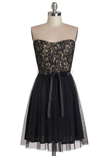 b6dd0329228 Noir Narrative Dress - Lace