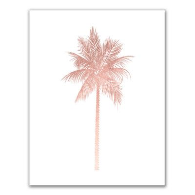 Jetty Home 'Palm Tree' Painting Print