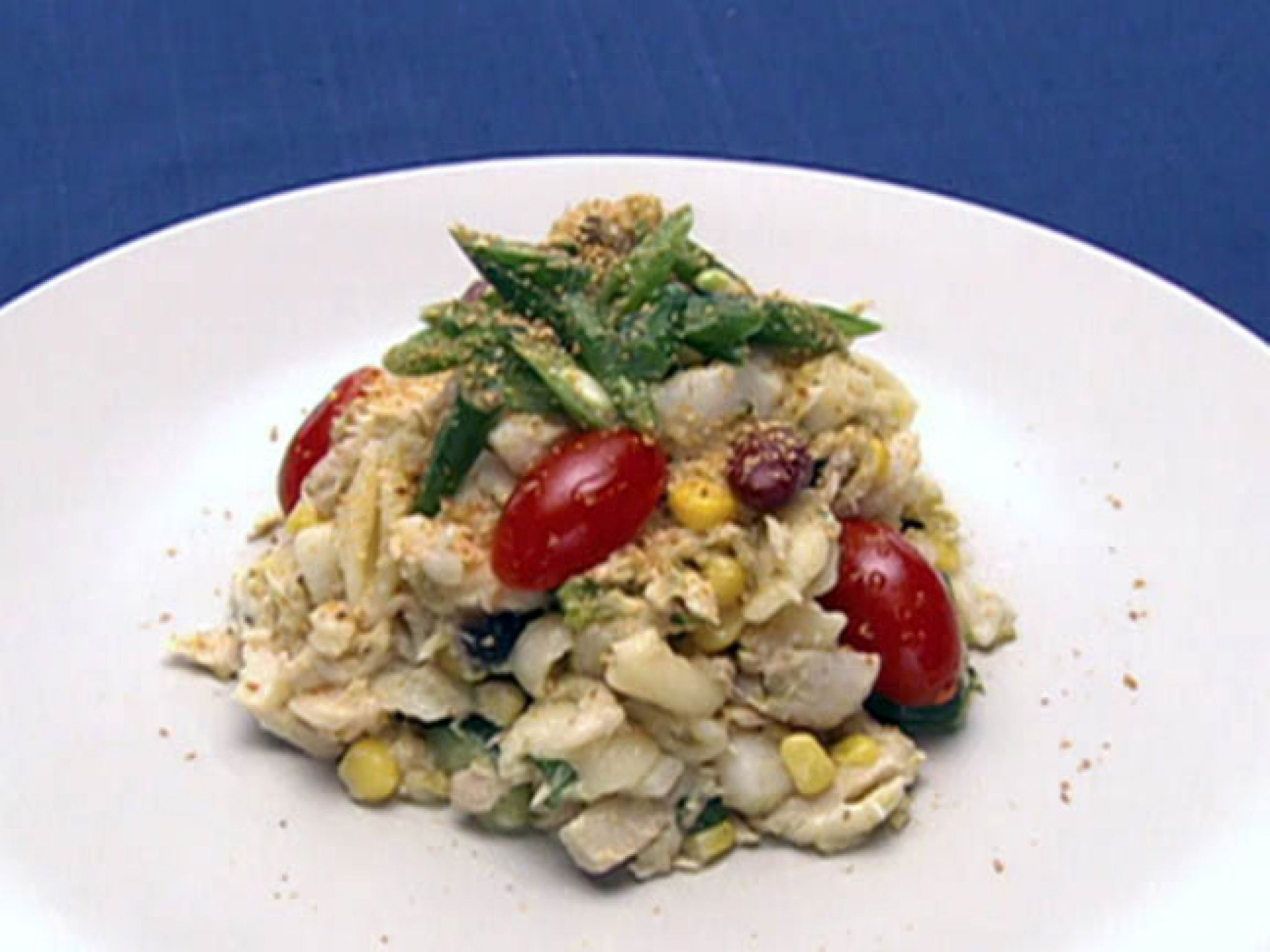 Food network recipes, Seafood salad ...