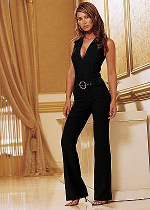 45375df5b2ea2 Black sleeveless jumpsuit