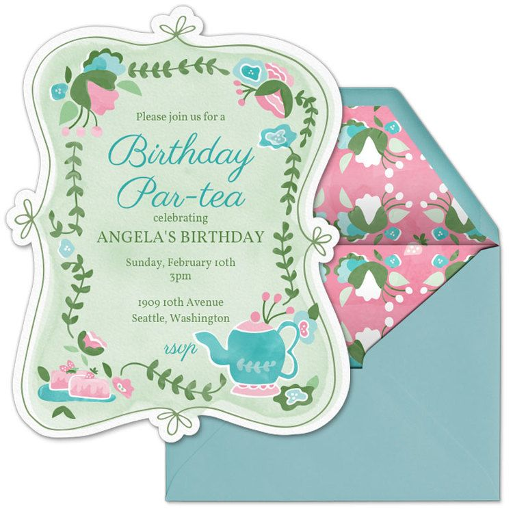 6 New Whimsical Invitations Available From Evite Including This