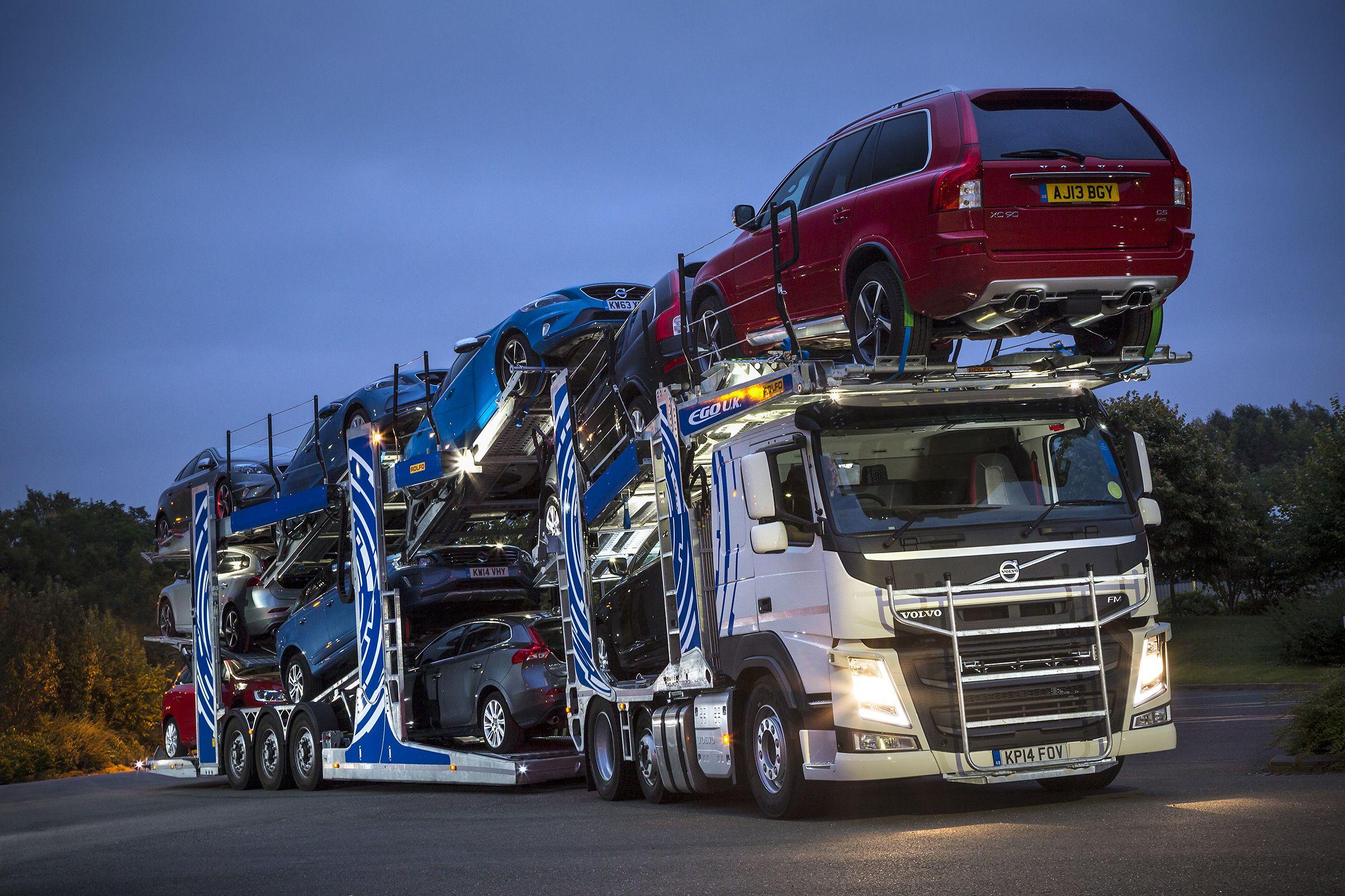 Volvo Fm Big Trucks Volvo Trucks Transportation