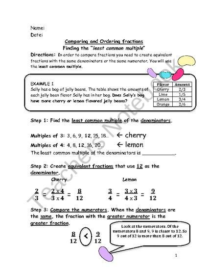 Observation Ready Worksheet Finding The Least Common Multiple Least Common Multiple Common Multiples Homeschool Math