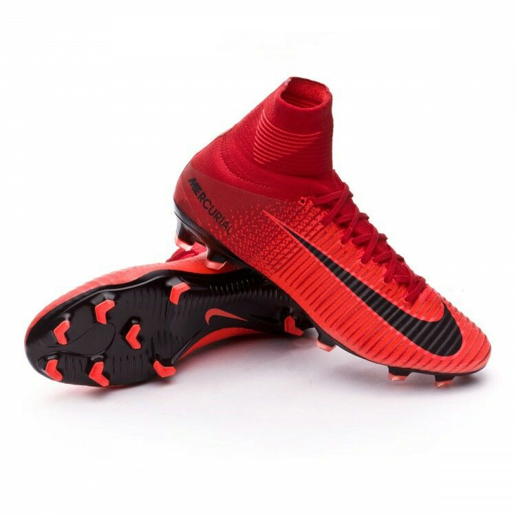 BOTA NIKE MERCURIAL SUPERFLY V ACC FG University red-Bright crimson-Black 1d795a9507469