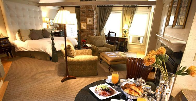 The Loft Suite At The White Barn Inn Kennebunkport Hotel