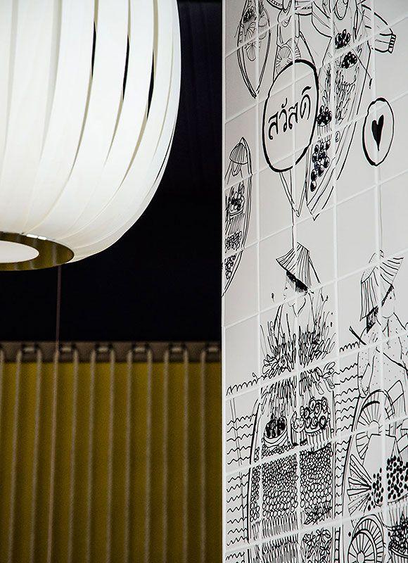 GinYuu Stuttgart, Stuttgart. A project by Ippolito Fleitz Group – Identity Architects.