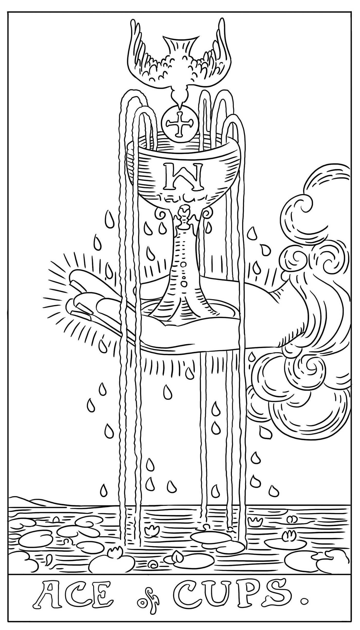 81yukensr4l Jpg 1400 2450 Pentacles Tarot Cups Tarot Tarot Cards Art