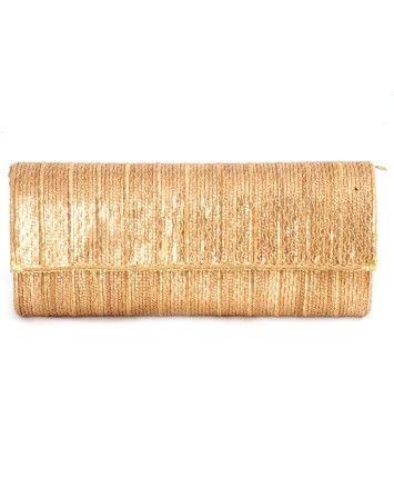 Gold Chain String Metal Box Clutch #ohnineone