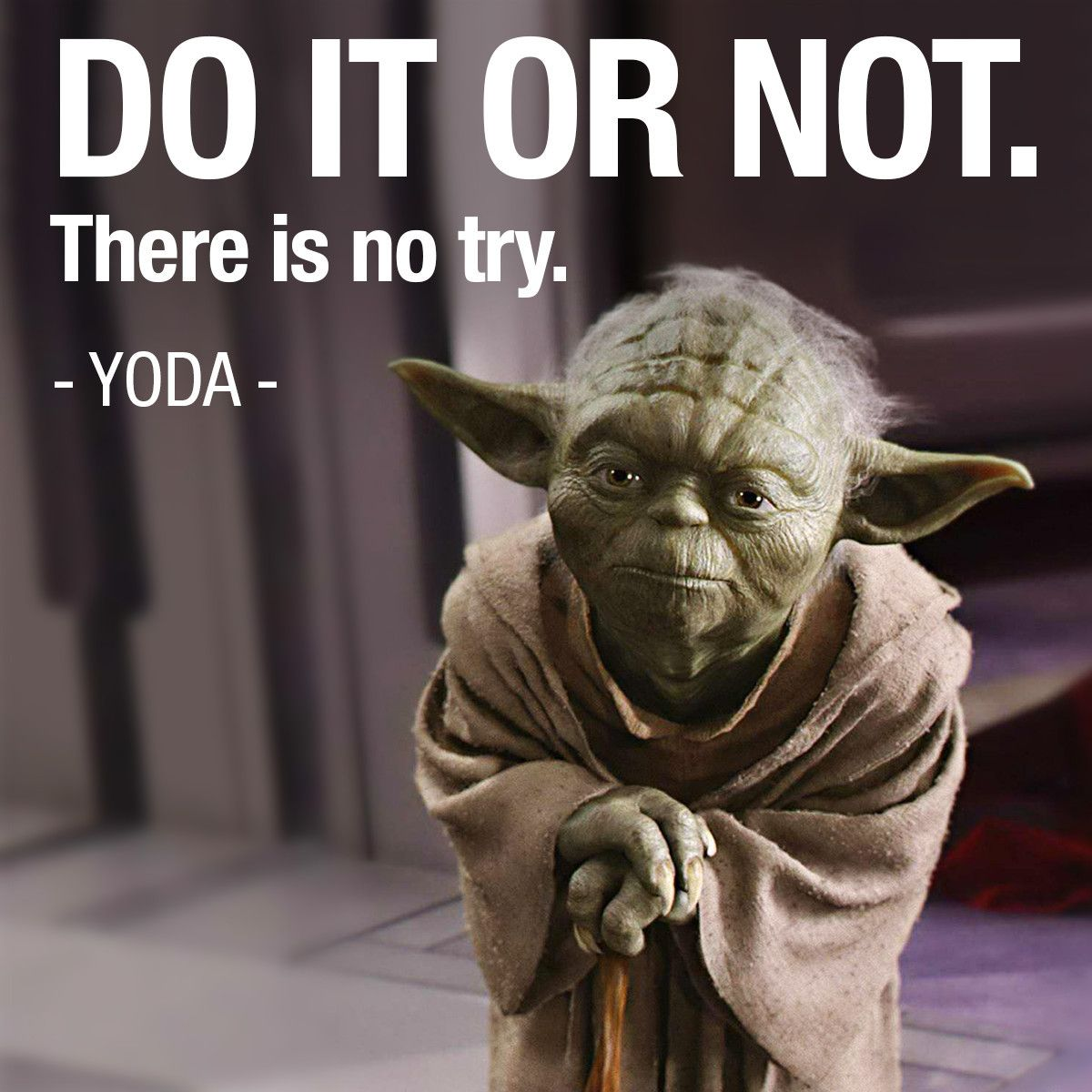 Do it or not there is no try | Star wars villains, Star ...