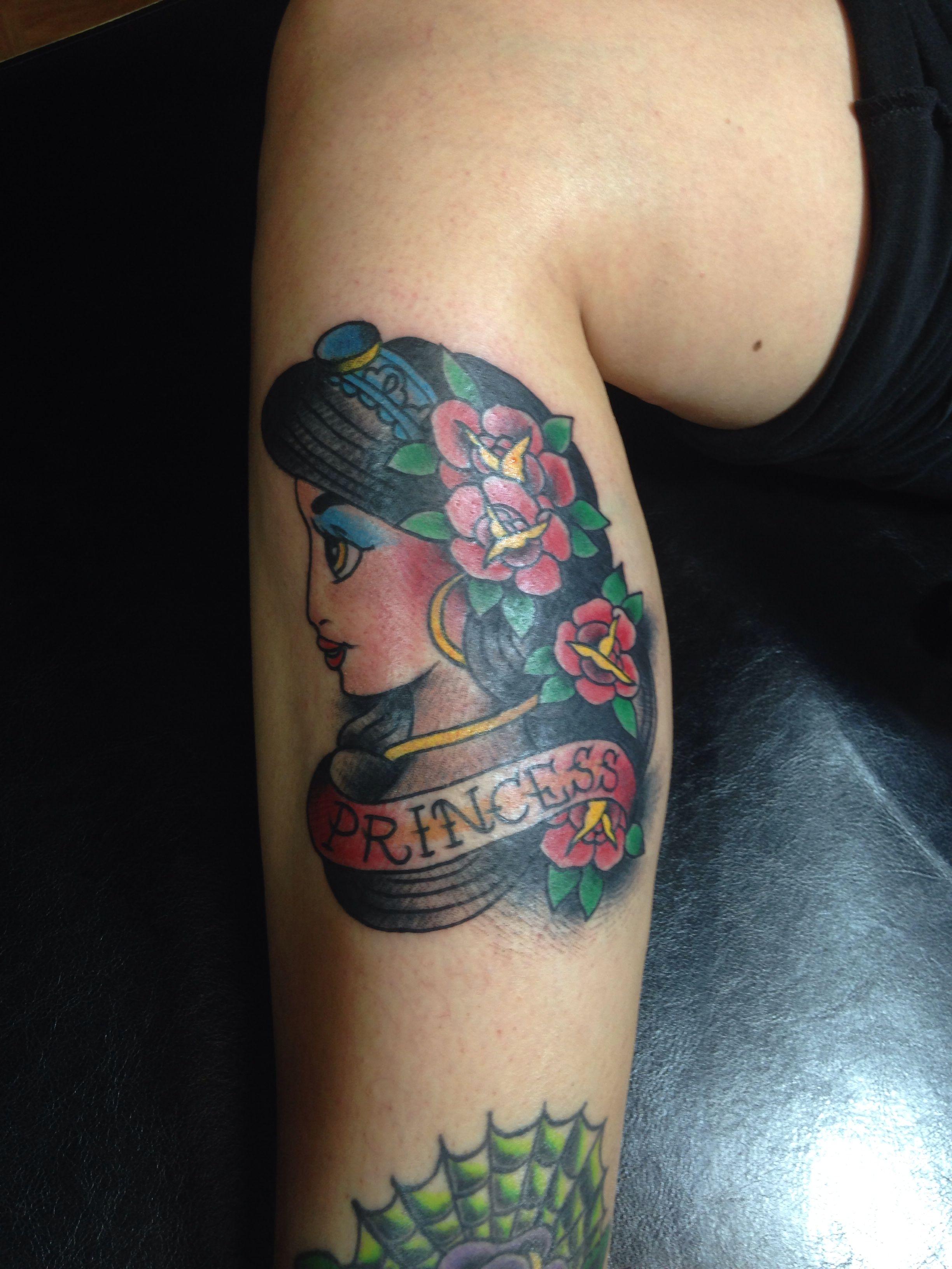 Disney princess jasmine traditional tattoo tattoos pinterest disney princess jasmine traditional tattoo izmirmasajfo Images