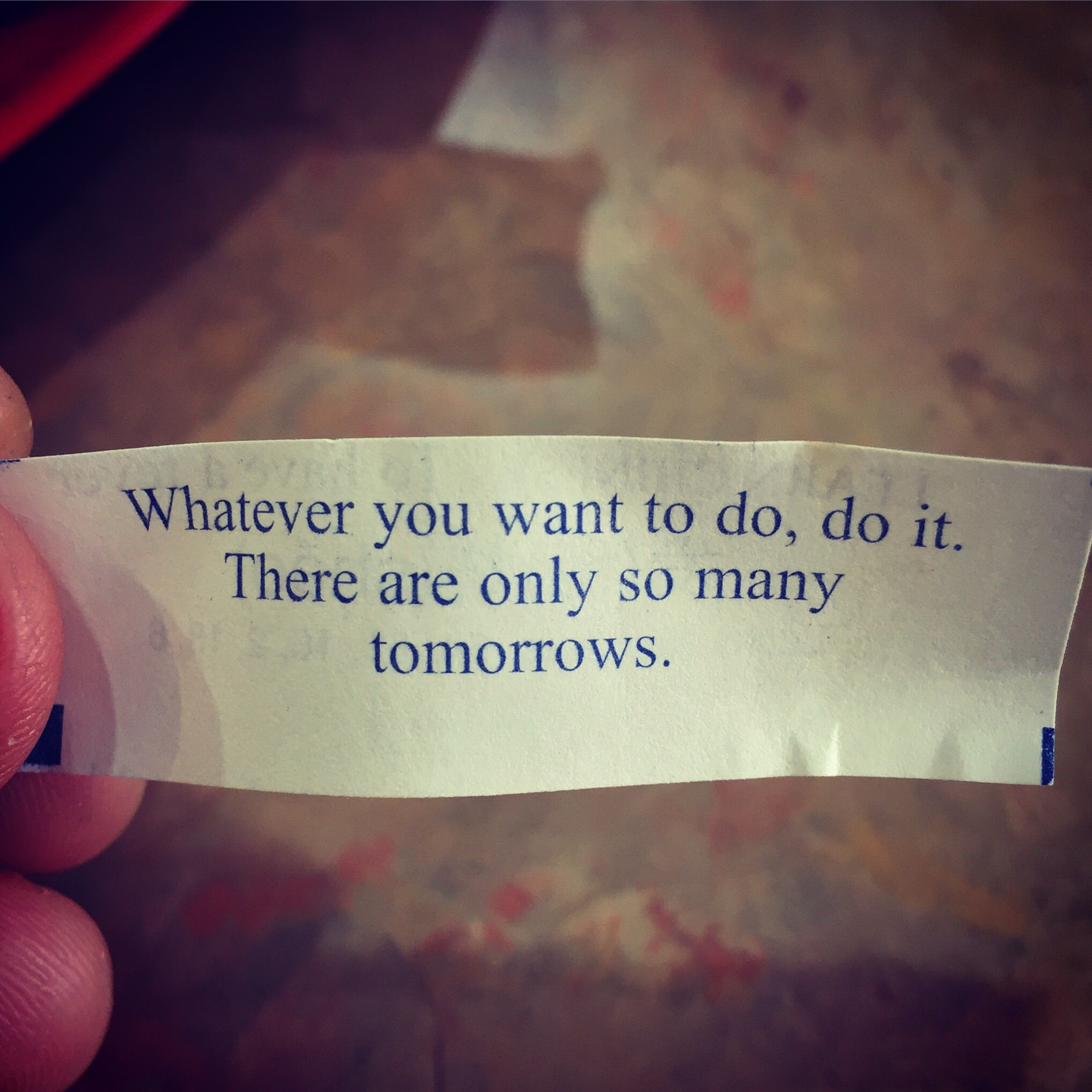 No Need To Spend A Fortune On These: [image] My Fortune Cookie Was Oddy Motivational.