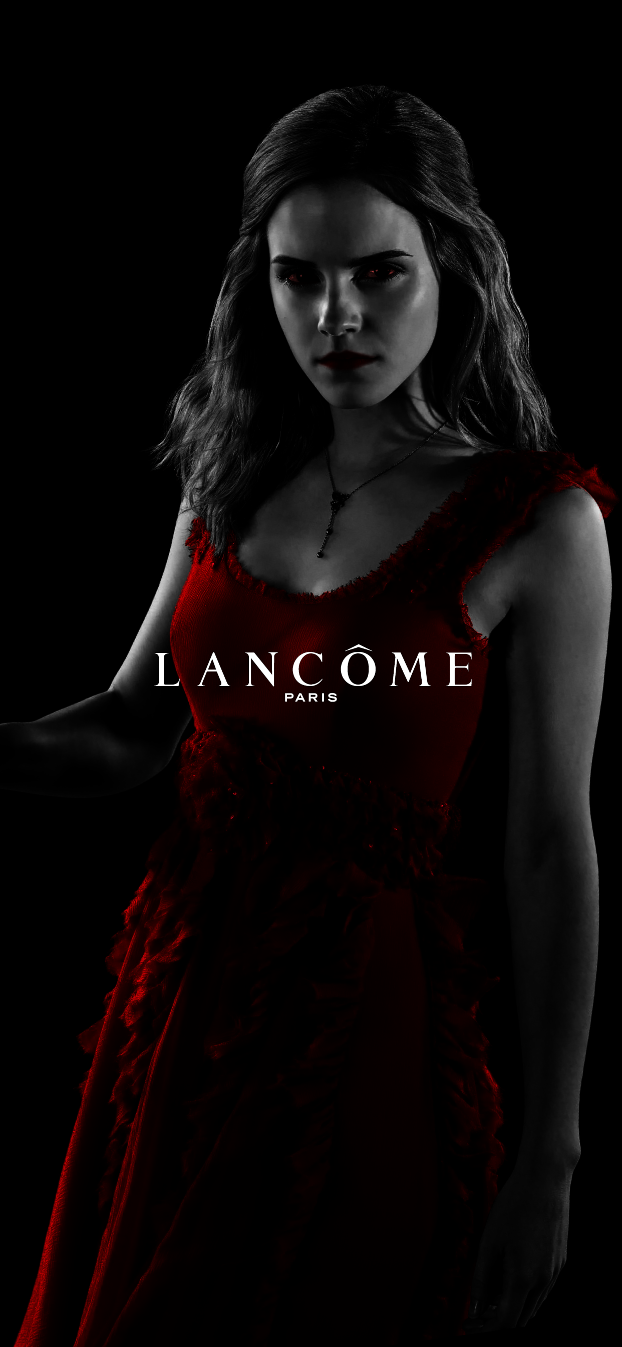 HERMIONE Dark Side with LANCÔME iPhone X Series Wallpaper