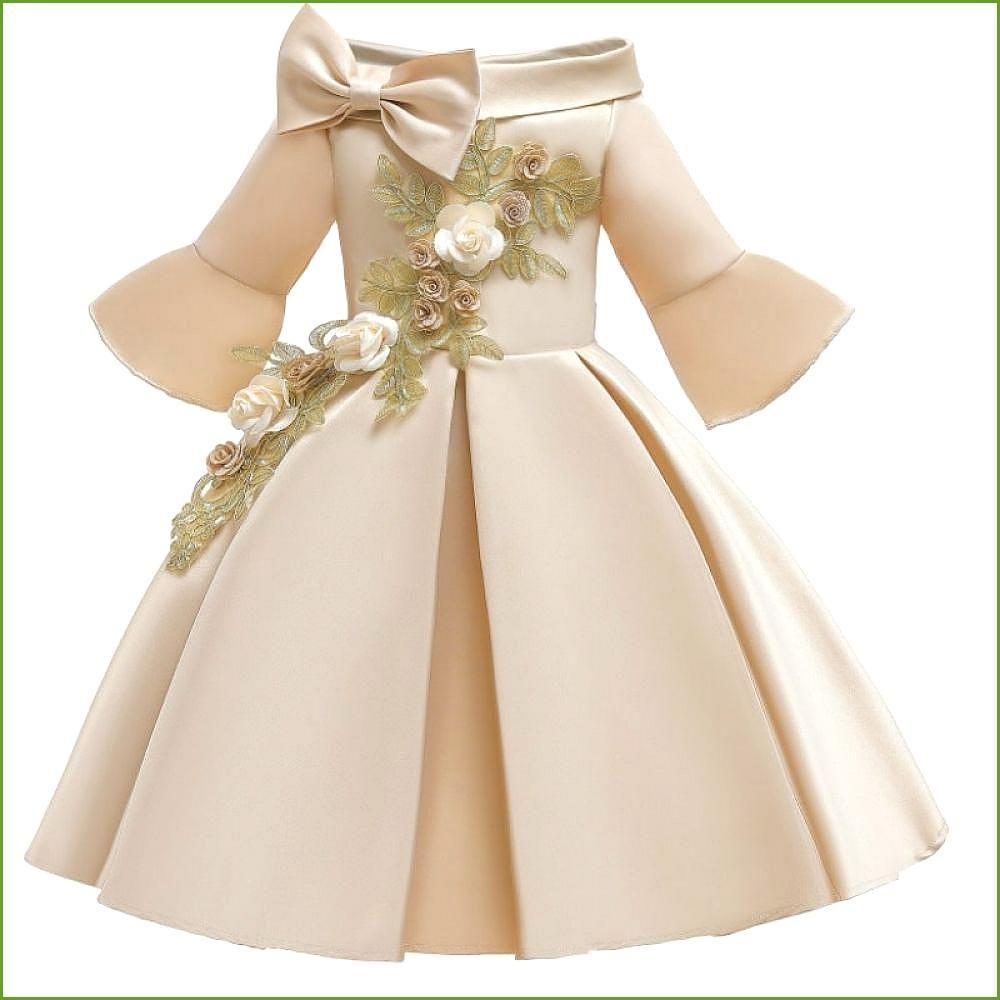 Kinder Kleider für Mädchen Blumenmädchen Hochzeit Party Kleider