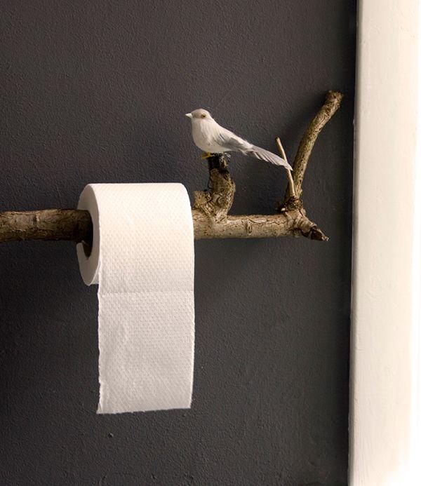 Creative Wooden Branch Furniture Diy Toilet Paper Holder Diy Toilet Home Diy