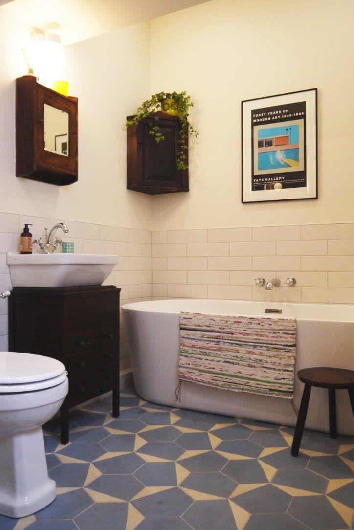 Before After A Big Change For A Little Bathroom Bathroom Design Decor Bathroom Renovation Gorgeous Bathroom