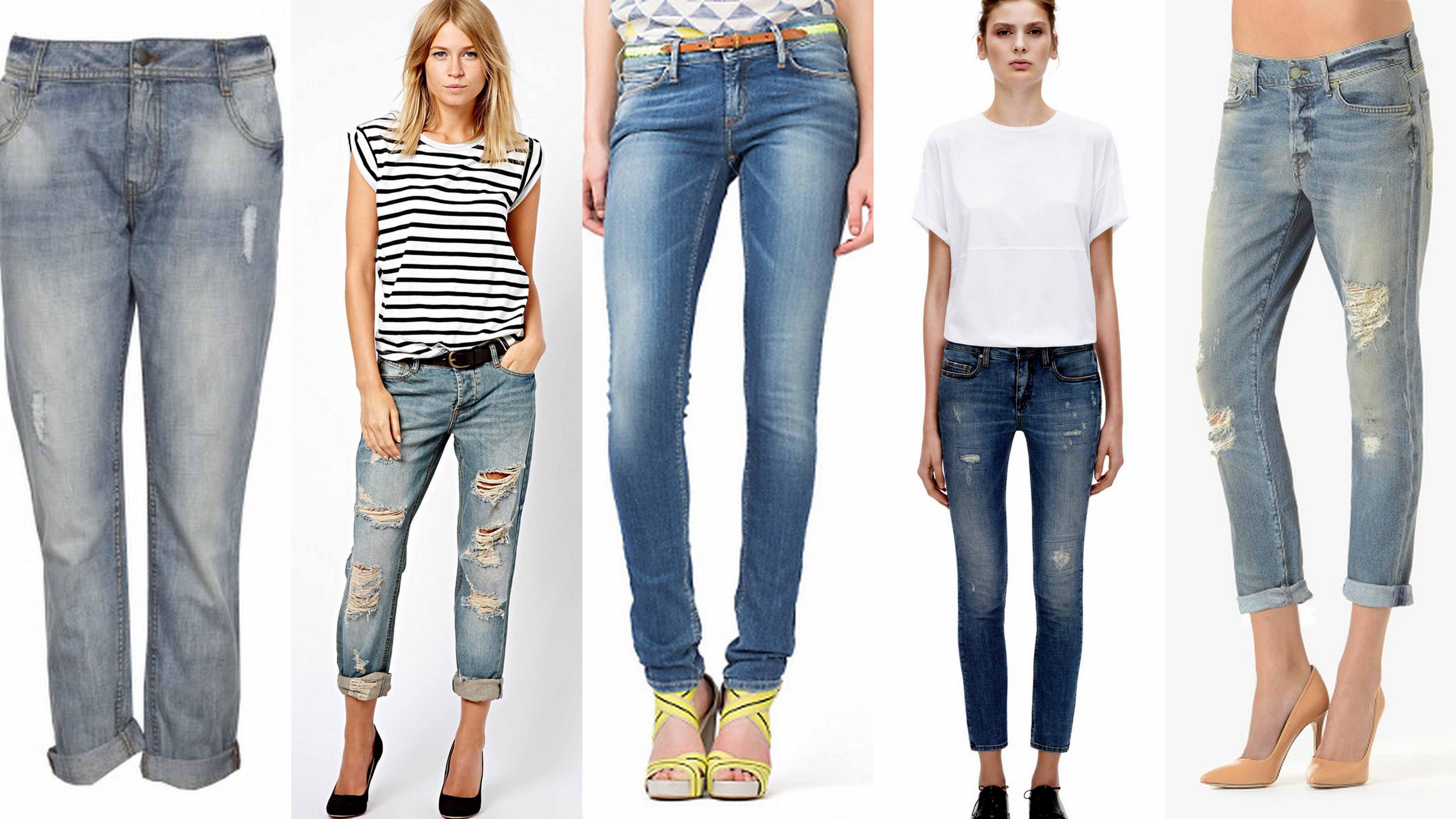 Mix and Match Style | Mix and Match Denim Jeans Fashion ...