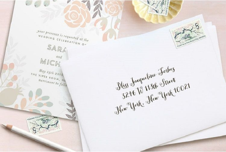 Bridal Shower Invitation Address Etiquette