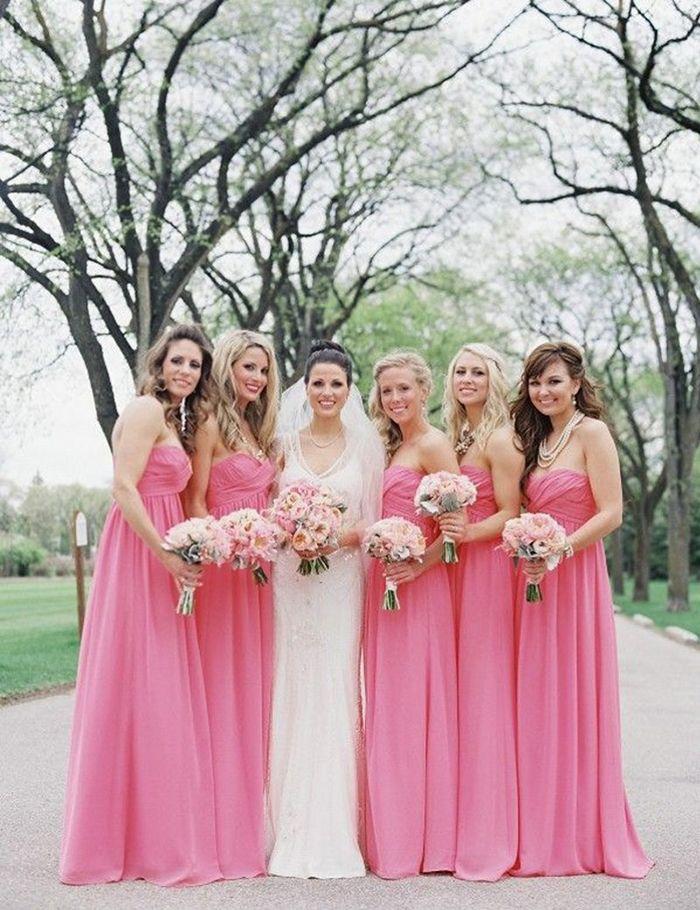 38 - Vestido de Madrinha - rosa | Marriage | Pinterest | Wedding and ...