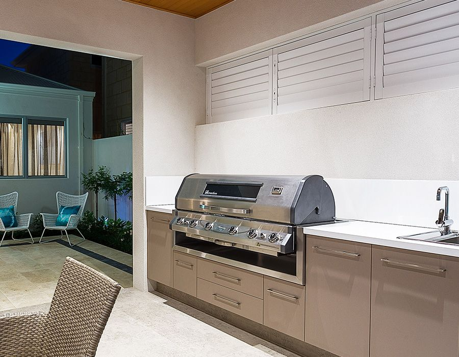 Pin By The Outdoor Chef On Alfresco Outdoor Shutters Blinds Bbq Store Outdoor Bbq Outdoor Shutters