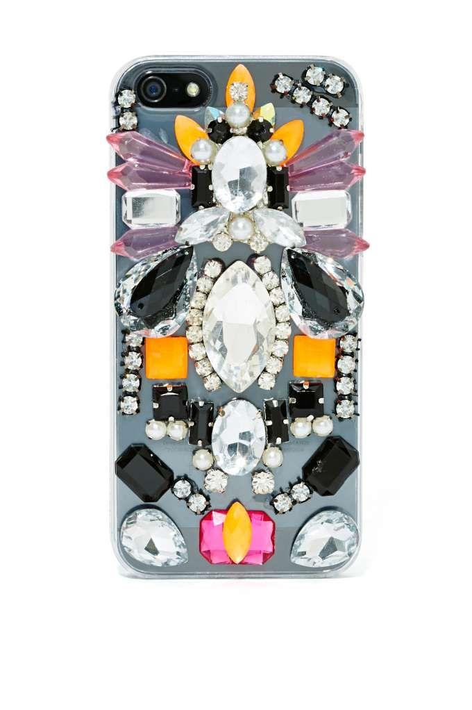 Skinnydip London Jewel Thief iPhone 5 - 36991 - Case from @NASTY GAL (AUD $27.81). #fundas #móviles #originales