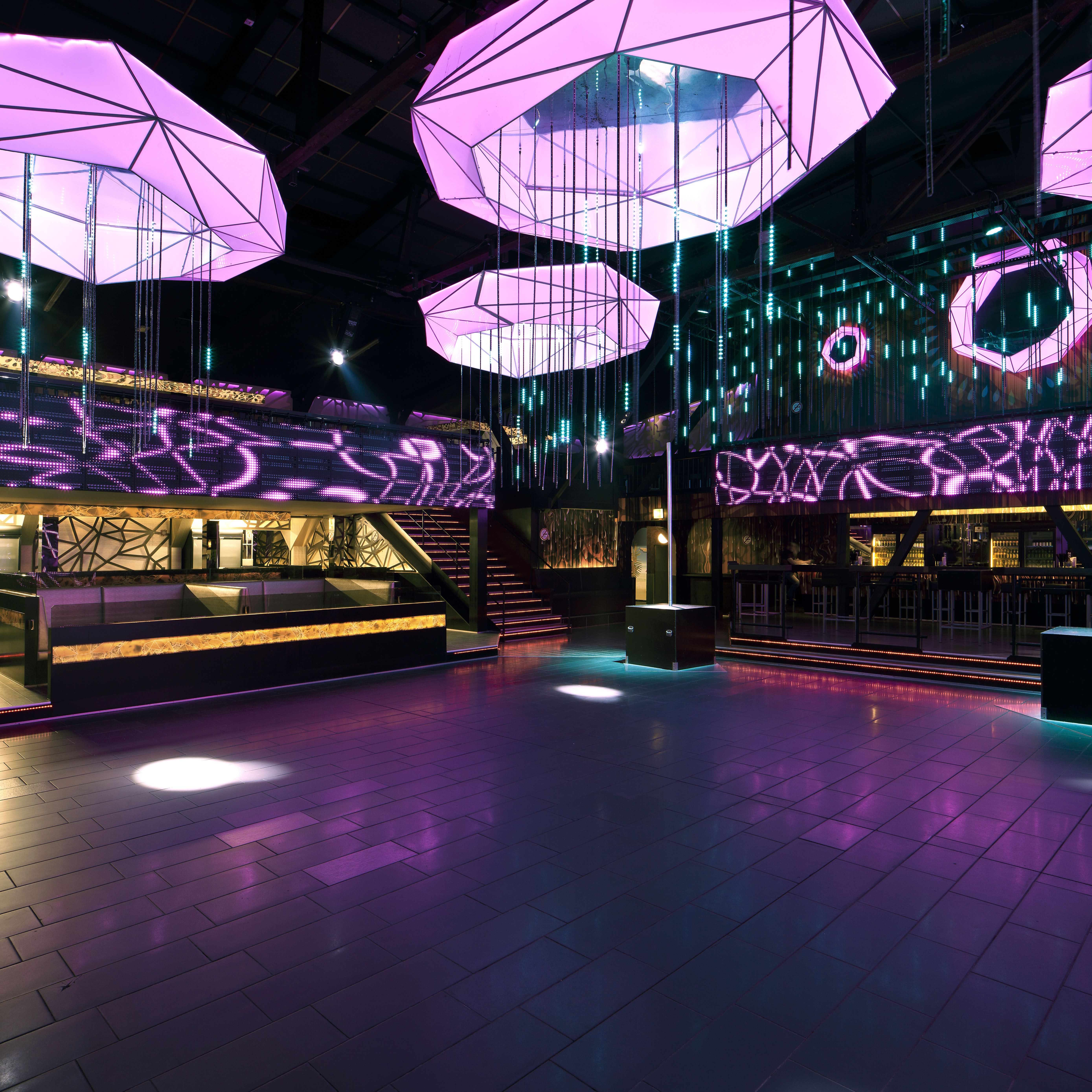 Space Design Club Rush Hour In Dortmund Germany By Heilight