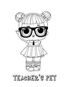 lol surprise coloring pages in 2020 with images  coloring pages printables kids color