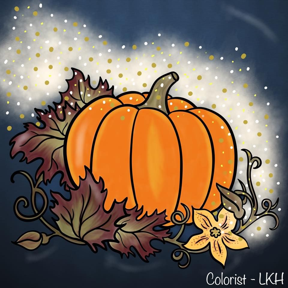 Don\'t forget to enter our Pumpkin Coloring Contest, it ends tomorrow ...