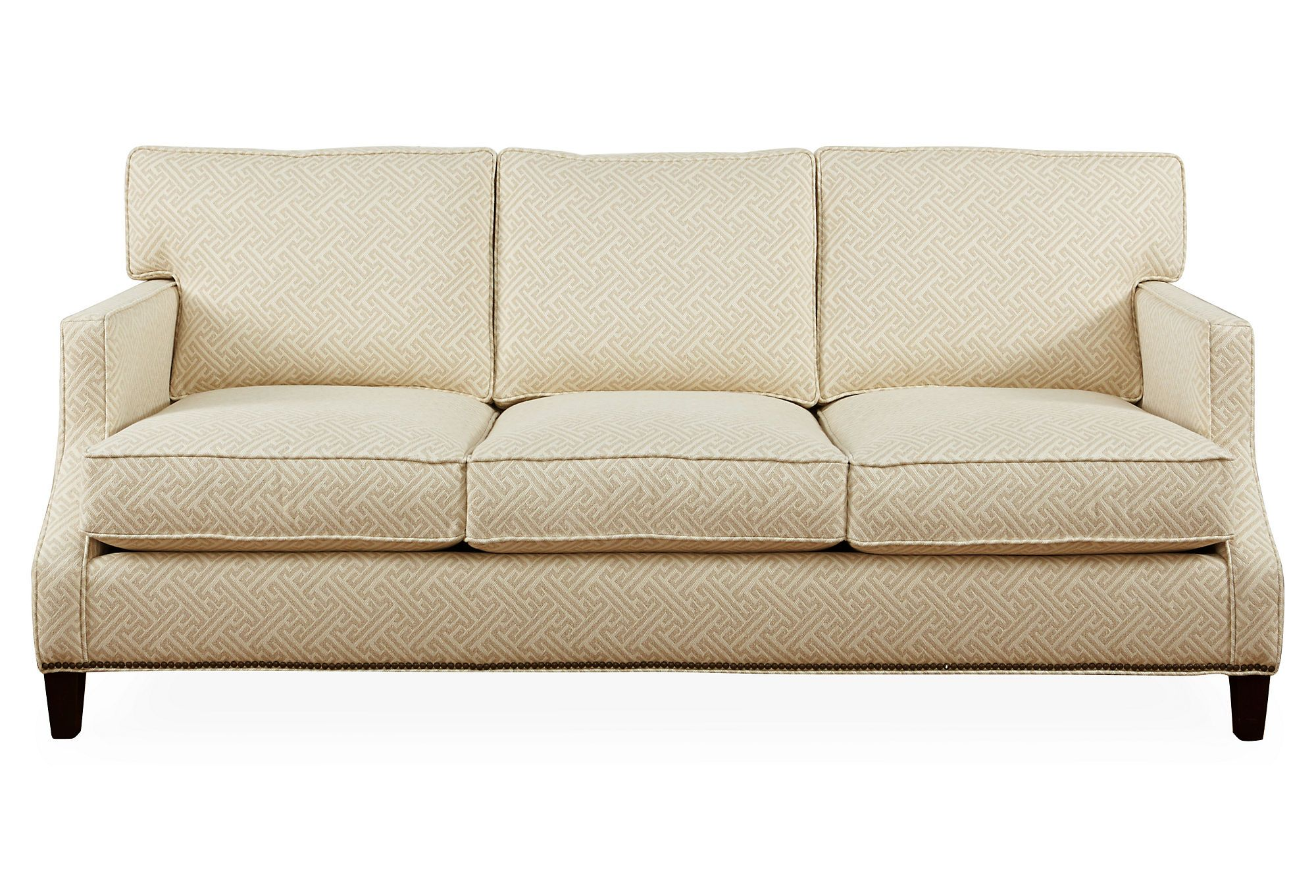 """At 82"""", this small-scaled sofa has a comfortable design, perfectly scaled for urban living. The frame is crafted using kiln-dried hardwood, which makes it exceptionally strong and sturdy. Each is..."""