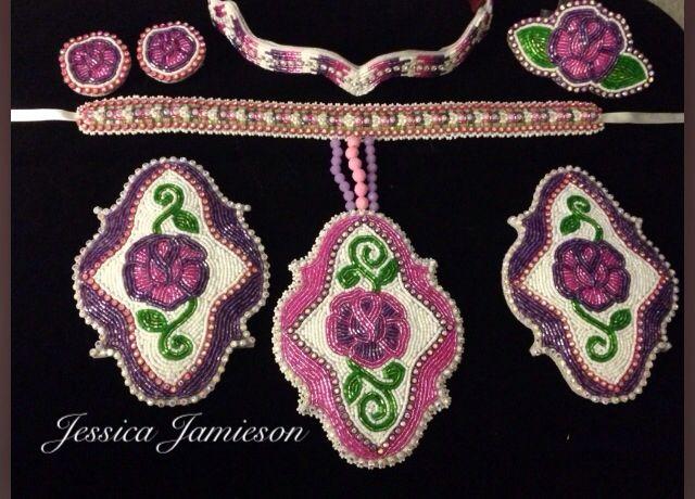 girls beaded jingle dress accessory