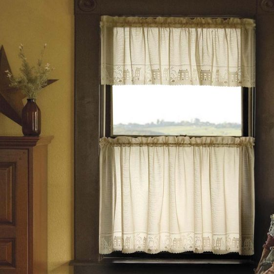 Country Willow Tier Curtains by Heritage Lace | Heritage Lace ...