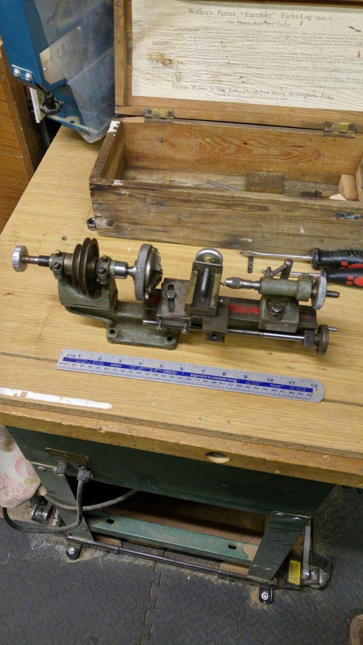 Old Jewelers Lathe Turned Into A Pen Woodturning Lathe