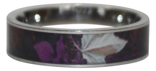 SureFire Designs AntlerRings Womens Purple Haven Camo Ring Comfort