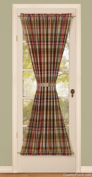 french door curtains | eBay & Features: -Casual woven fabric. -Fits patio/ French doors. -Sold ... Pezcame.Com