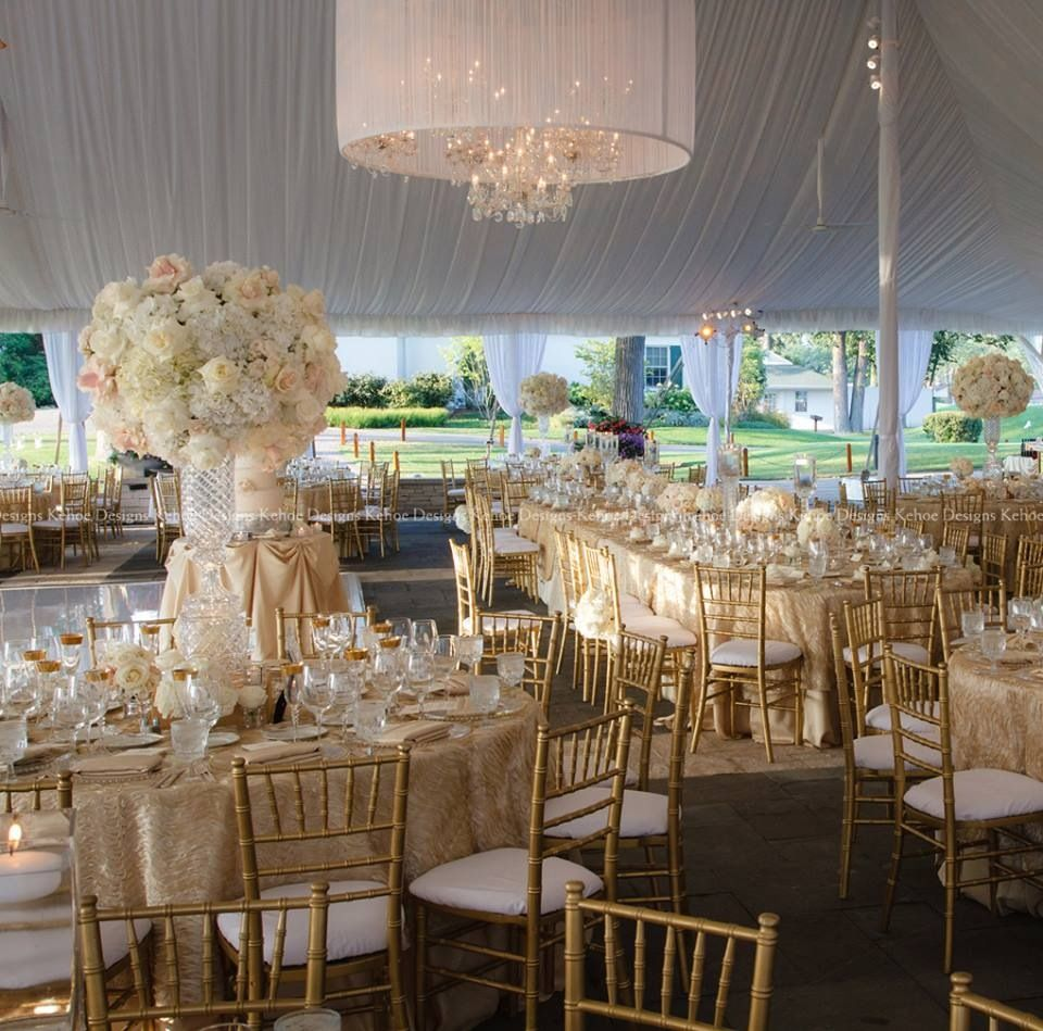 Ivory And Gold Wedding Decorations: Gorgeous Gold And Ivory