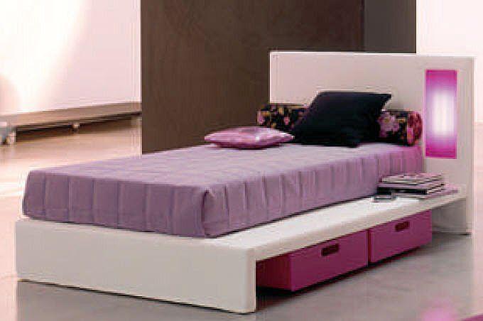 Single Bed Designs For Children Home Design Ideas With Images Purple Bedroom Design Bed Design Best Bed Designs