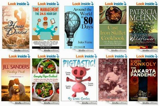 10 Free Kindle Books 4-6-15