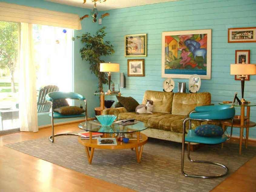 Home Design And Decor Decorating 50 S Style House Ideas 50s Style House Ideas Living Room Retro Living Rooms Retro Apartment Retro Home Decor