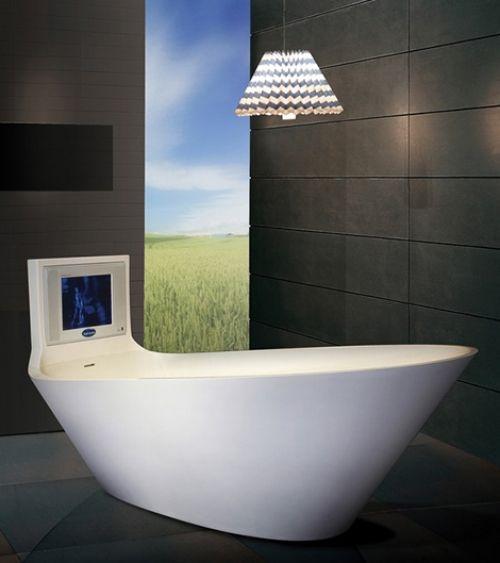 saturn karim rashid designer badewannen fürs moderne bad Bad
