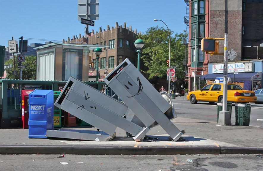 Bansky - New York, 2008