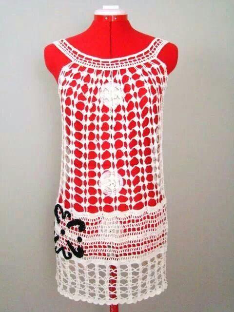 Para la pile! | Ropa en crochet | Pinterest | Playa y Ropa