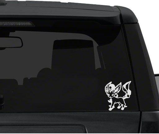 Car Window / Bumper Decal Sticker - Pokemon Leafeon
