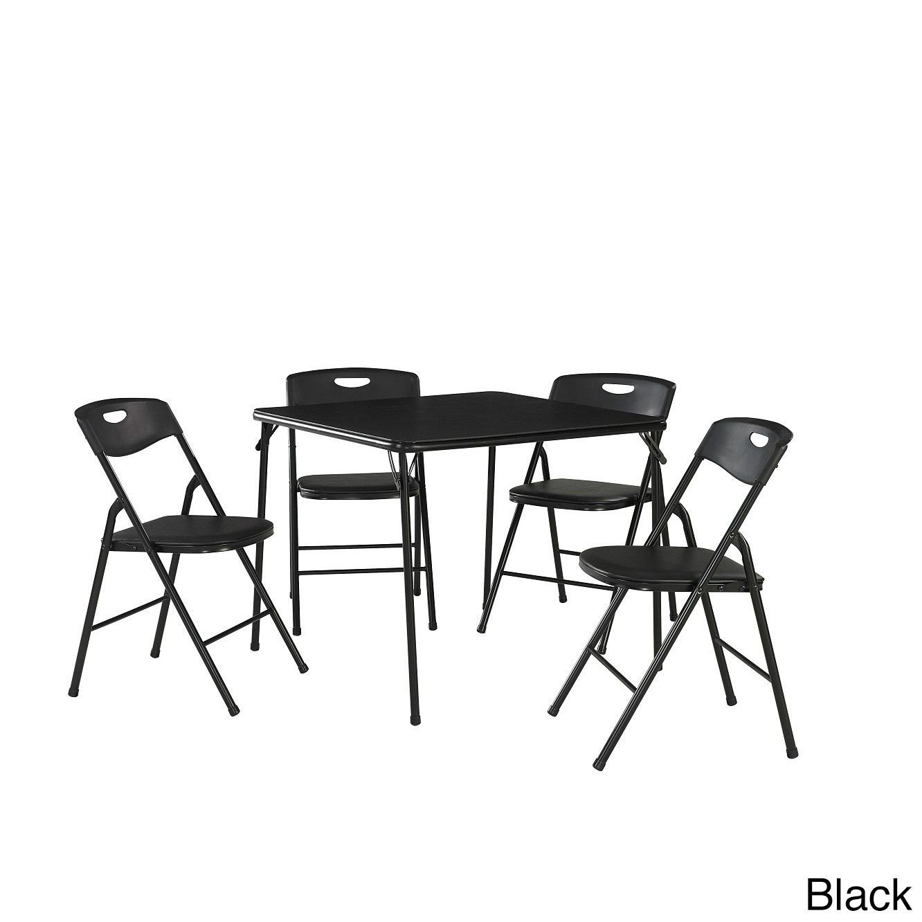 The Curated Nomad Hillard 5 Piece Folding Table And Chairs