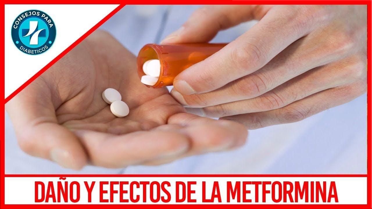 Daño y Efectos Secundarios de la Metformina | consejos para la ...
