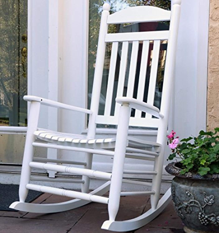 Brilliant Oliver And Smith Heavy Duty Wooden White Patio Porch Creativecarmelina Interior Chair Design Creativecarmelinacom