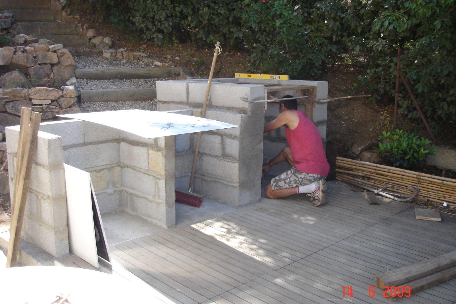 R sultat de recherche d 39 images pour comment faire un barbecue en pierre exterieur - Comment fabriquer un barbecue ...