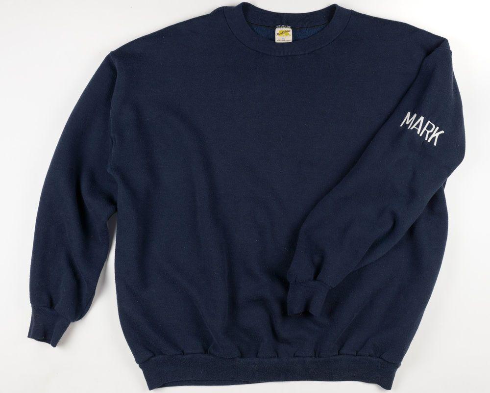 Mark's Vintage 70's Russell Athletic XL USA Police Academy Training  Sweatshirt