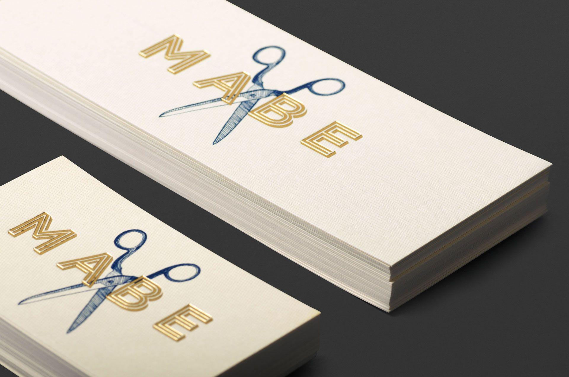 MABE Hair   Band   Graphic & Website Design Adelaide   Branding ...