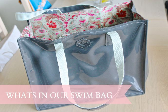 Whats in our swim bag?