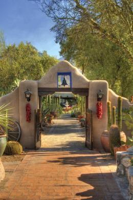 Lodge On The Desert Spanish Style Homes Spanish Style Hacienda