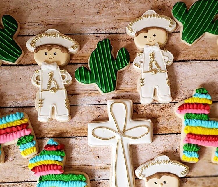 f5d068bd5 Cookies charro mariachi baptism Mexican theme boy birthday | Cookies ...